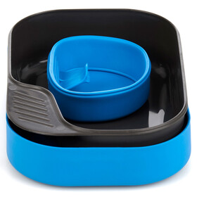 Wildo Camp-a-box servies basic blauw